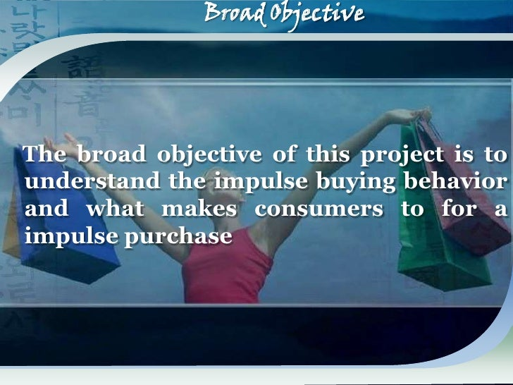 consumer impulsive purchase Abstract-this study intends to evaluate the impact of product characteristics and  consumer characteristics on singaporean consumer's impulse purchasing.