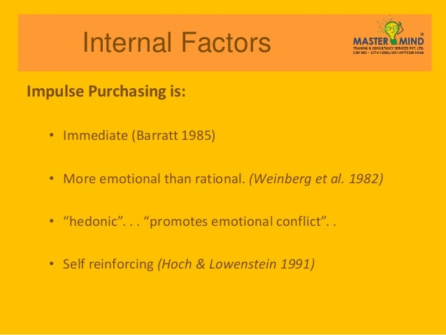 impulse buying behavior Habitual buying behavior habitual buying behavior refers to situations where a consumer has low involvement in a purchase, and is perceiving very few.