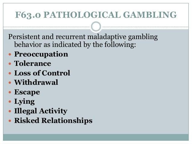 Gambling disorder dopamine