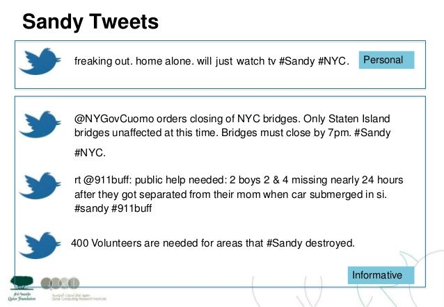 Sandy Tweets@NYGovCuomo orders closing of NYC bridges. Only Staten Islandbridges unaffected at this time. Bridges must clo...