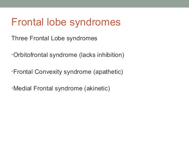 A frontal assessment battery at bedside: FAB • Similarities (conceptualization) • Lexical fluency (mental flexibility) • M...