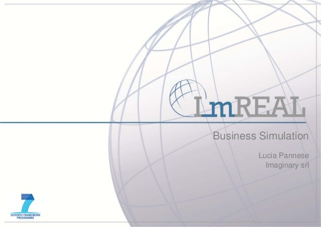 Business Simulation         Lucia Pannese           Imaginary srl