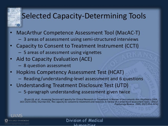 macarthur competence assessment tool pdf
