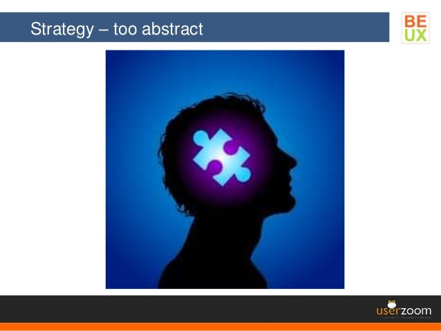 Strategy – too abstract