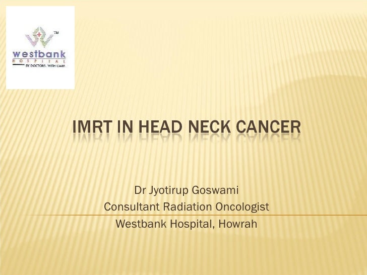 Dr Jyotirup Goswami Consultant Radiation Oncologist Westbank Hospital, Howrah
