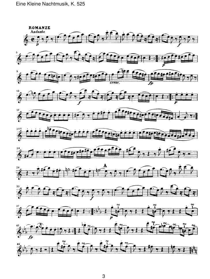 Eine Kleine Nachtmusik, K. 525                                 3