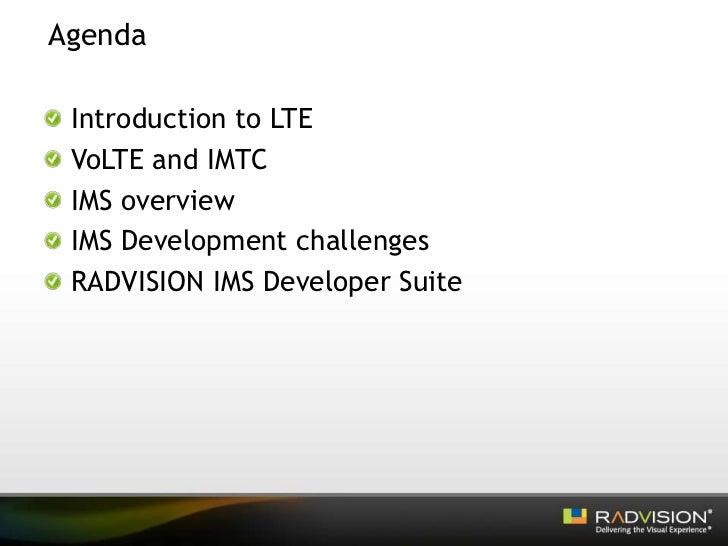 LTE – the Future of IMS Slide 2