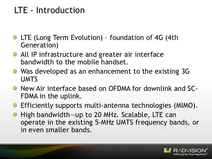 LTE – the Future of IMS Slide 3