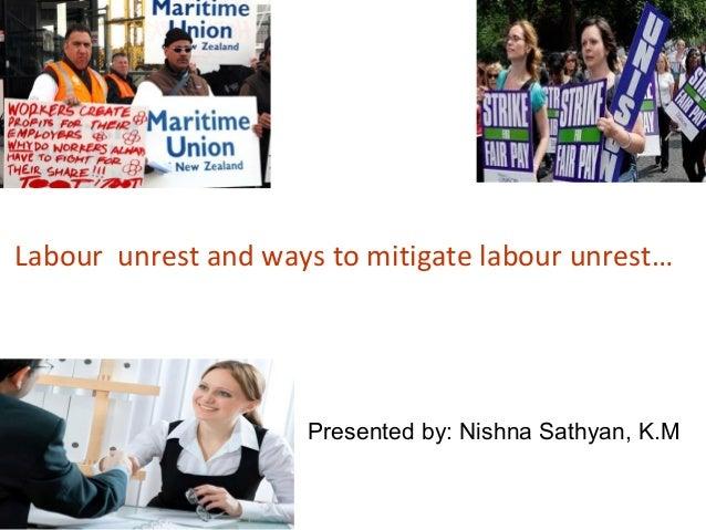 Labor unrest