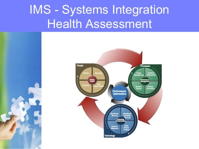 IMS - Systems Integration Health Assessment
