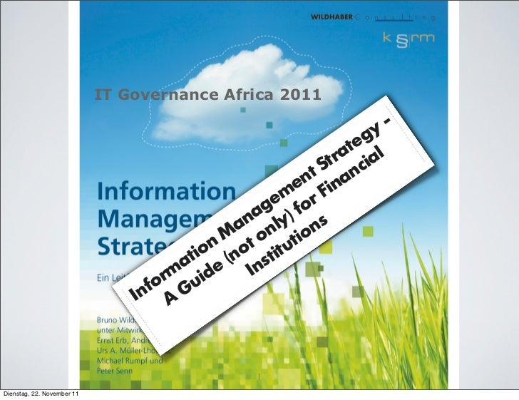 IT Governance Africa 2011                                                                 y -                             ...