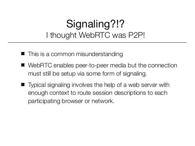 WebRTC Signaling Triangle                Web Thingy        1                    2            4            3               ...