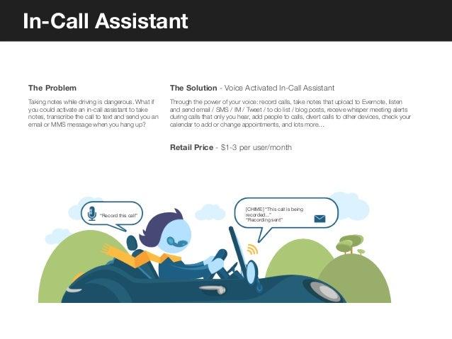 Social Weaving       The Opportunity                                  The Solution - Social Call Activity. Social Caller I...