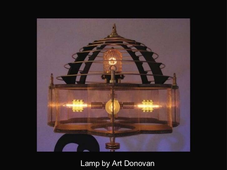 Lamp by Art Donovan