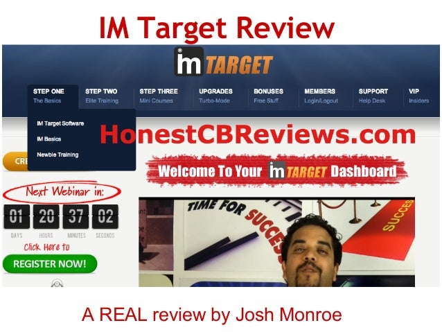 IM Target ReviewA REAL review by Josh Monroe
