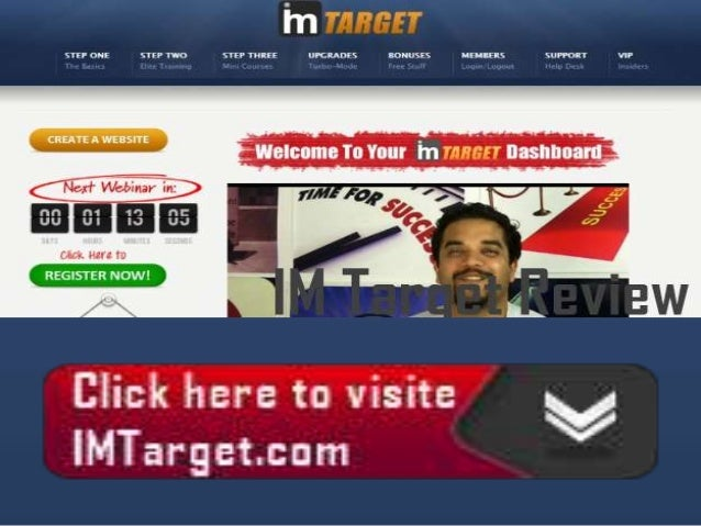 IM Target is a income generating software programdeveloped by Anik Singal and Jimmy Kim a very longtime experienced online...
