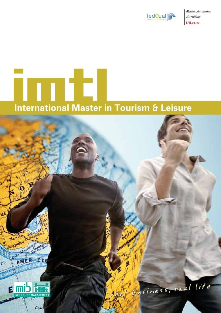 ted ual                               U N W T O. T H E M I SimtlInternational Master in Tourism & Leisure                 ...