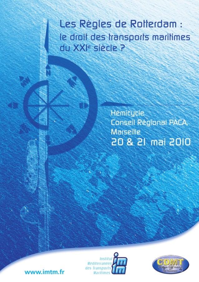 Imtm cdmt rotterdam-rules_20_et_21_mai_2010_programme_definitif