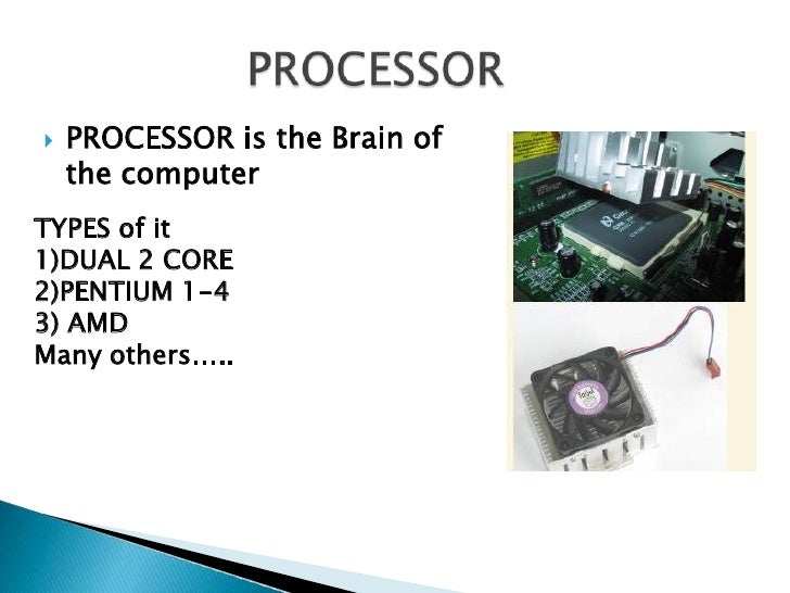 Computer hardware presentation youtube.