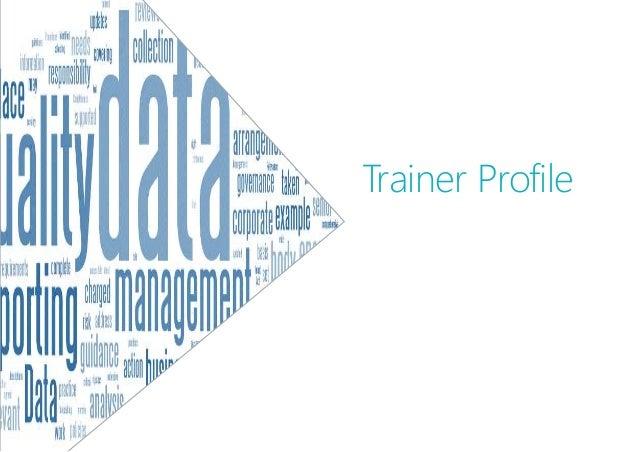 Trainer Profile
