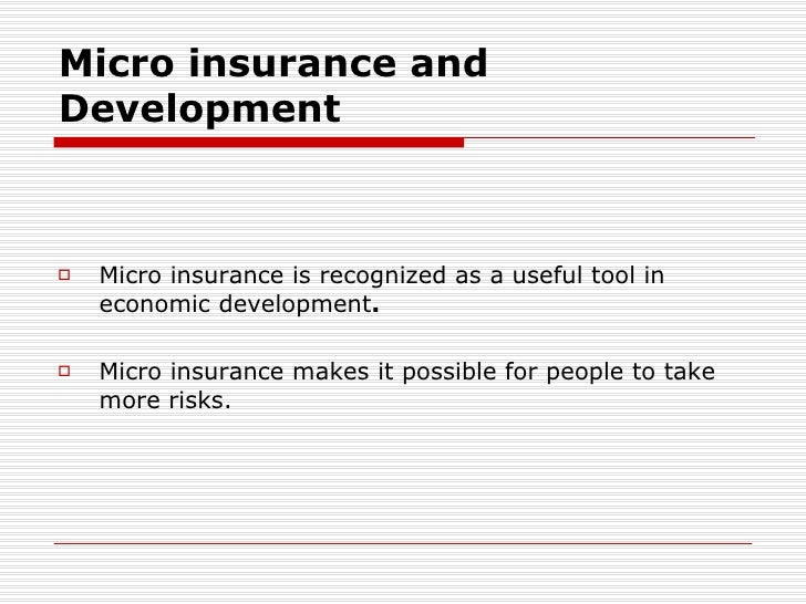 literature review on microinsurance The effect of microinsurance on investment levels among farmers  of microinsurance is positively correlated with investment in  4 literature review and.