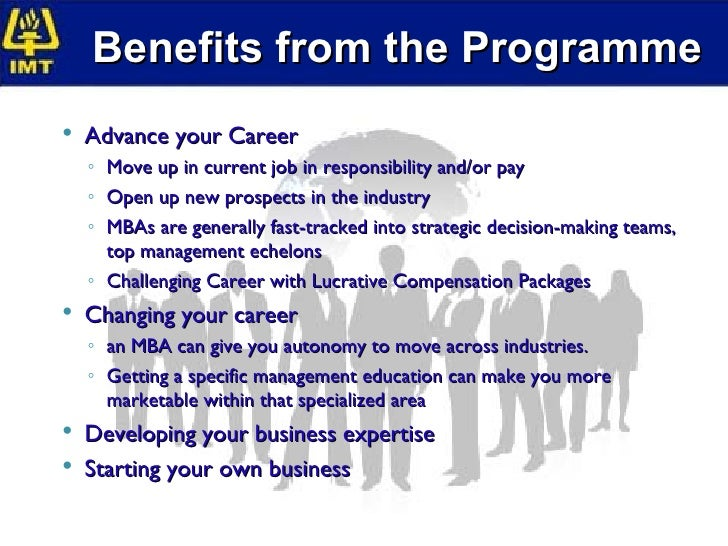 advance your career with an mba