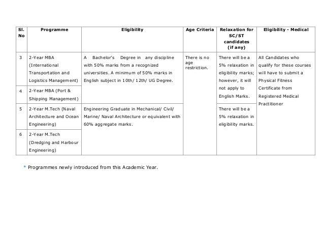 imu cet 2017 eligibility criteria