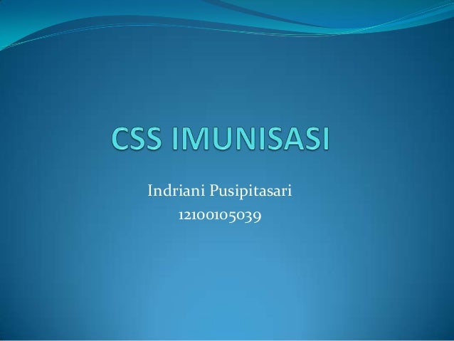 Indriani Pusipitasari12100105039