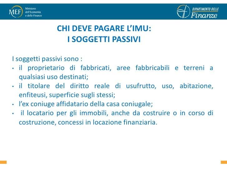 CHI DEVE PAGARE Lu0027IMU: ...