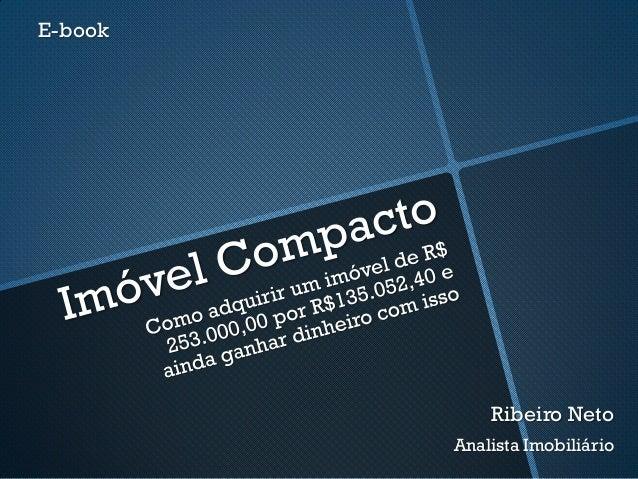 E-book Ribeiro Neto Analista Imobiliário