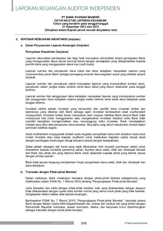 Laporan Keuangan Audit