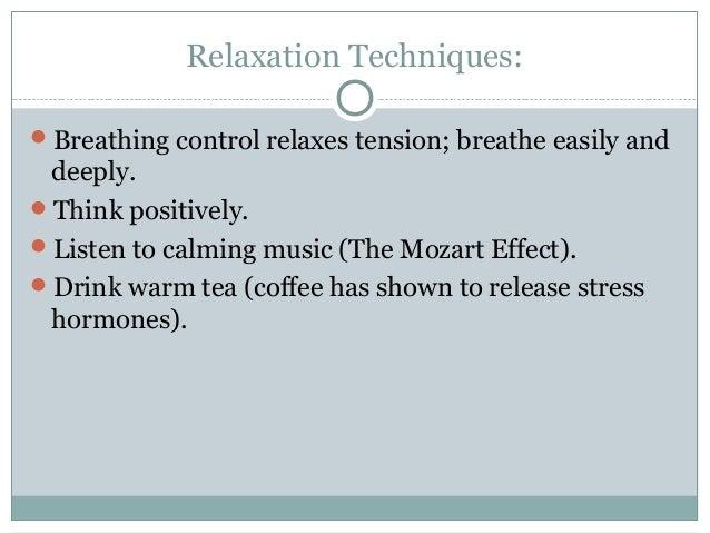 Essays on stress management techniques