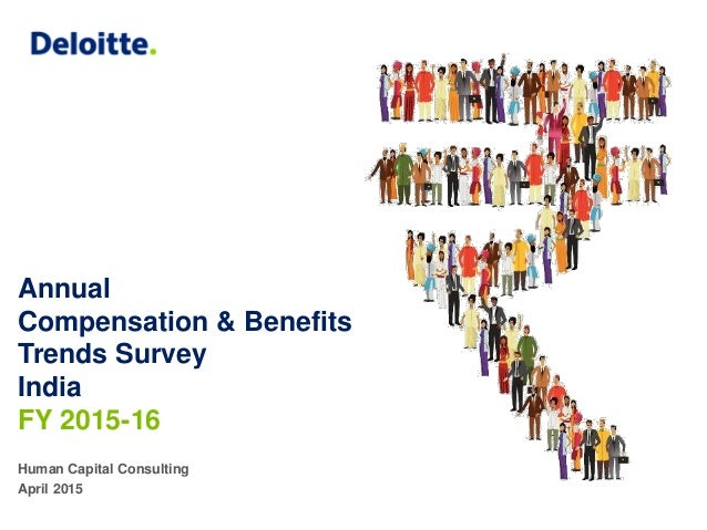 Annual Compensation & Benefits Trends Survey India FY 2015-16 Human Capital Consulting April 2015
