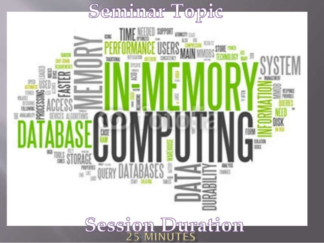 In-memory computing is the storage of information in the main random access memory (RAM) of dedicated servers rather than ...