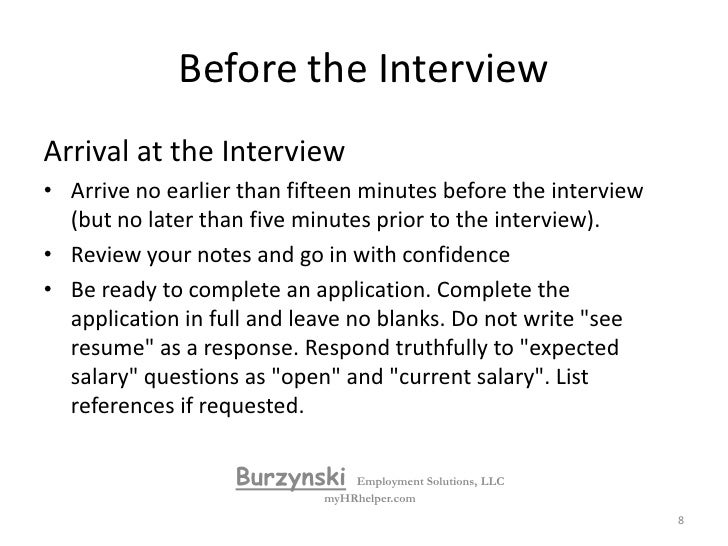 in person interview skills what to bring - What To Bring To A Job Interview