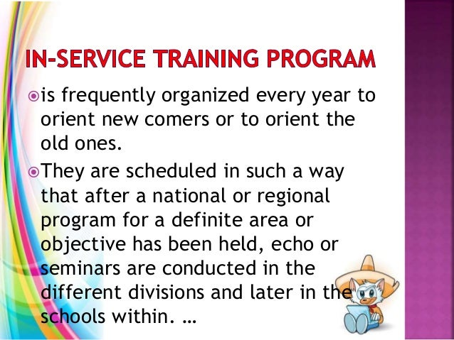 is frequently organized every year to orient new comers or to orient the old ones. They are scheduled in such a way that...