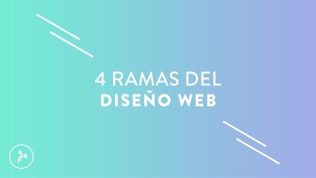 4 Ramas del diseño web