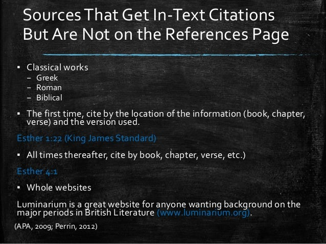 Citing Direct Quotations - APA Style: Basics - Research ...