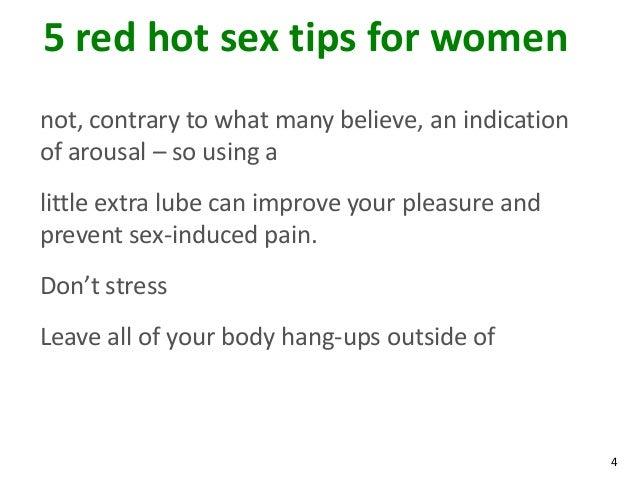 Arousal tips