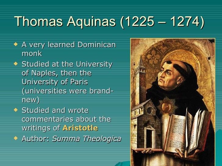 St. Thomas Aquinas: Bio, Life and Political Ideas