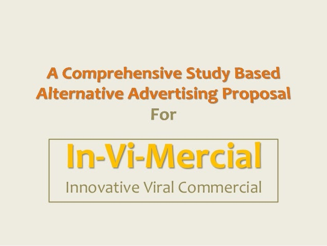 In-Vi-MercialInnovative Viral Commercial