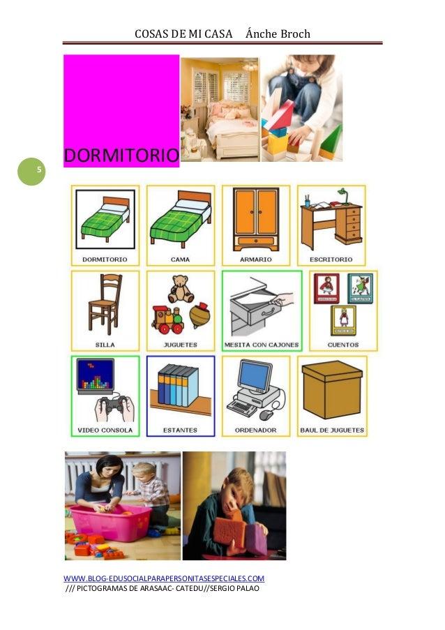 Cosas de mi casa cuaderno de lectura con im genes for Cosas para la casa