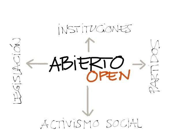 """El largo camino hacia el paradigma de lo """"abierto"""" para @CivilSC 2012"""