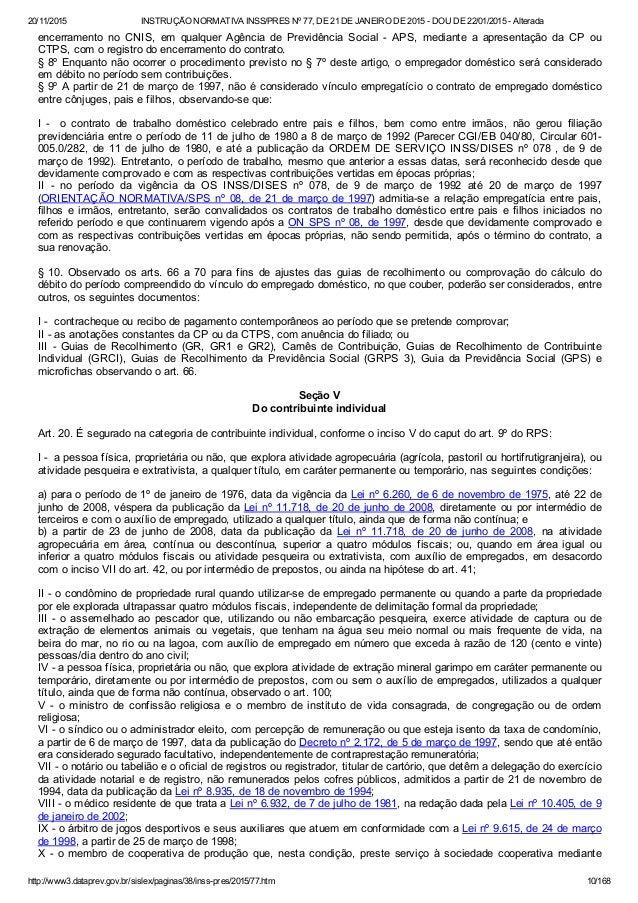 Artigo 77 cp