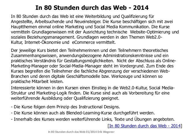 In 80 Stunden durch das Web - 2014 Slide 3
