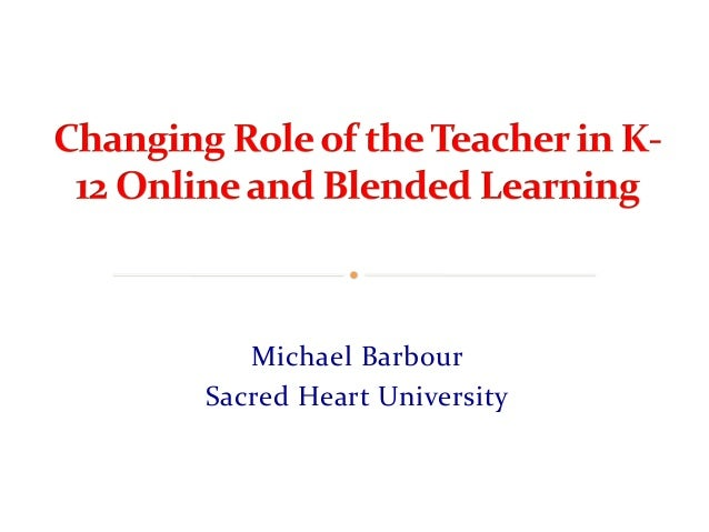 The Changing Role of the ESL Teacher