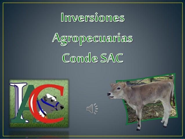 Somos una empresa ganadera que buscan continuamente invertir en tecnología aplicada a la ganadería, tales como la insemin...