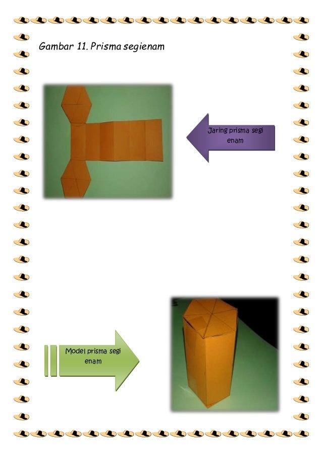Gambar Jaring Jaring Prisma Segi Lima - Besar