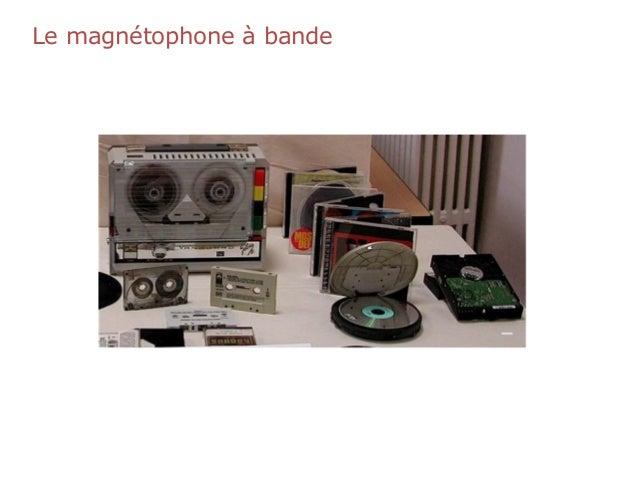 Le magnétophone à bande