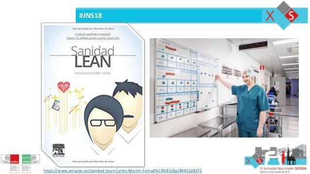 #JNS18 https://www.amazon.es/Sanidad-Lean-Carles-Martin-Fumad%C3%B3/dp/8490228272